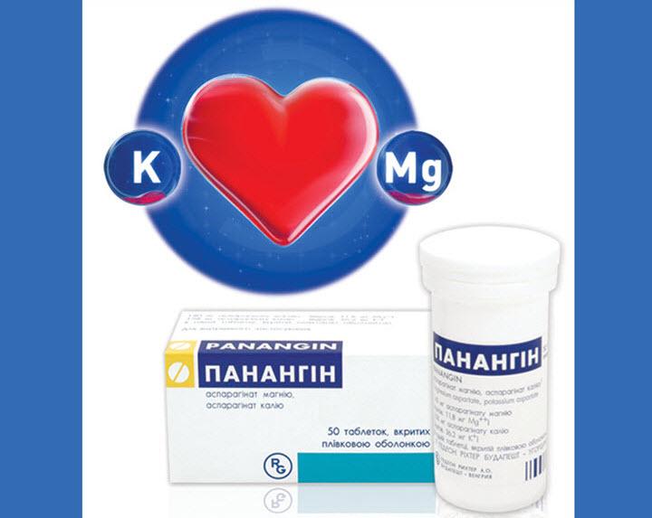 liječenje hipertenzije panangin