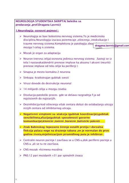 živaca i hipertenzija)