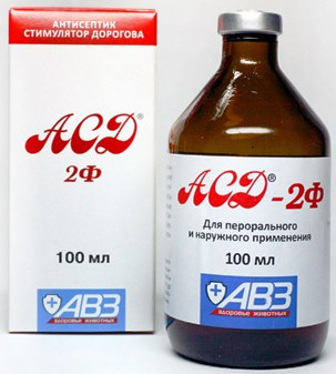 ASD-2 za tromboflebitis i proširene vene
