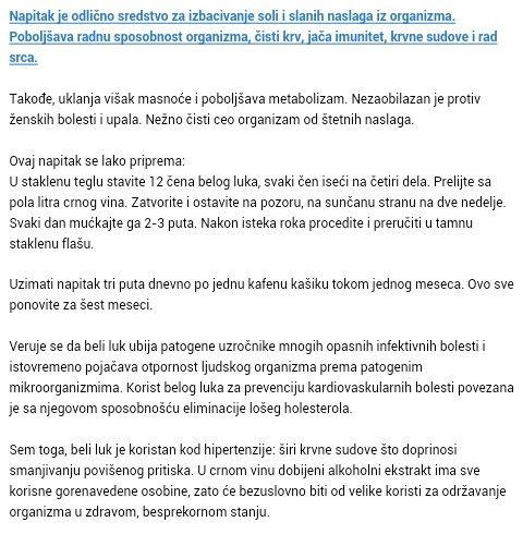 eliminirati hipertenzije)