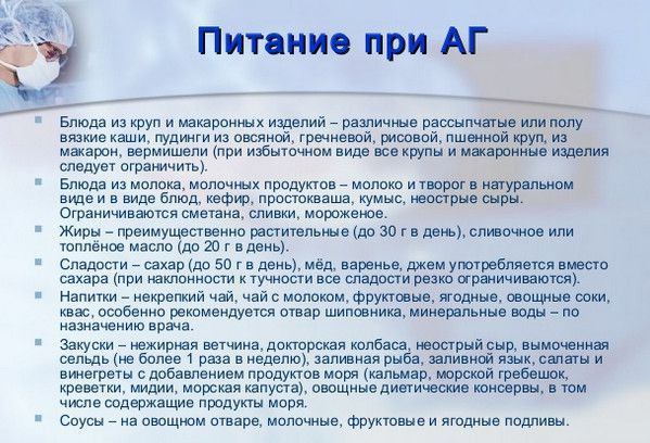 ne jesti hipertenzije)