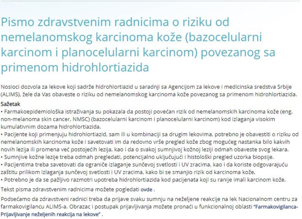 pismo od hipertenzije