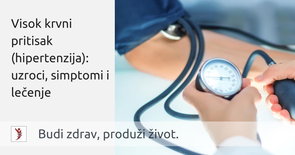 hipertenzija snižena temperatura