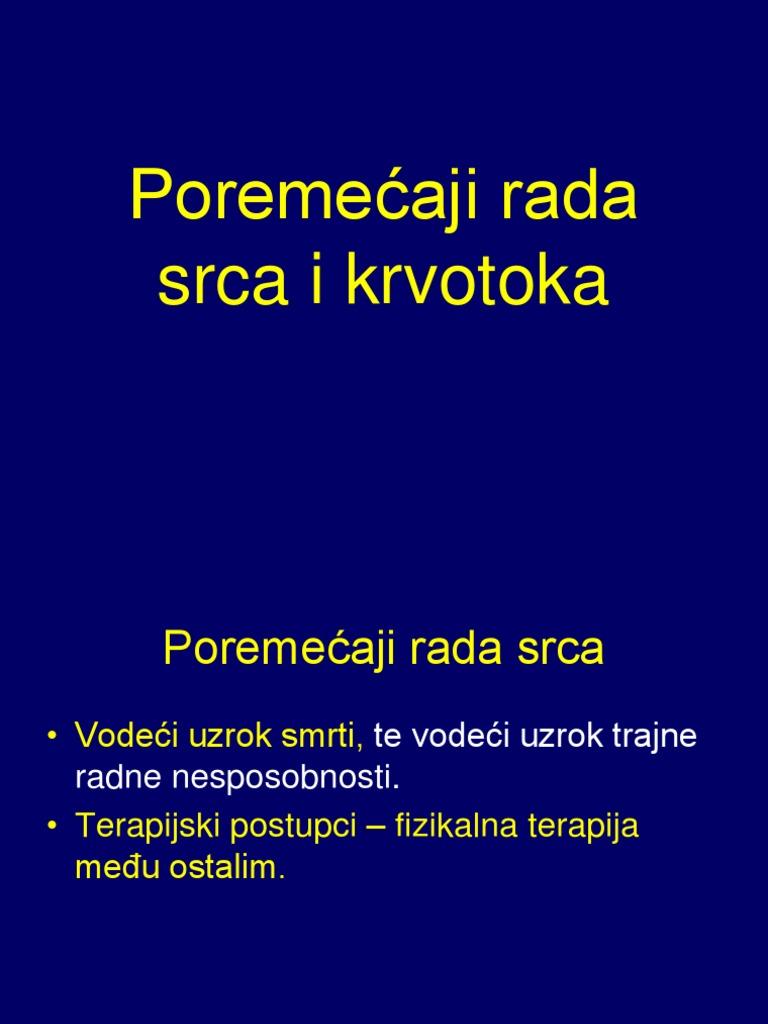 poremećaja srčanog ritma u hipertenzije)