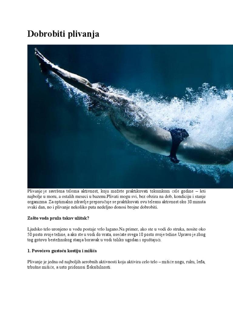 plivanje hipertenzija