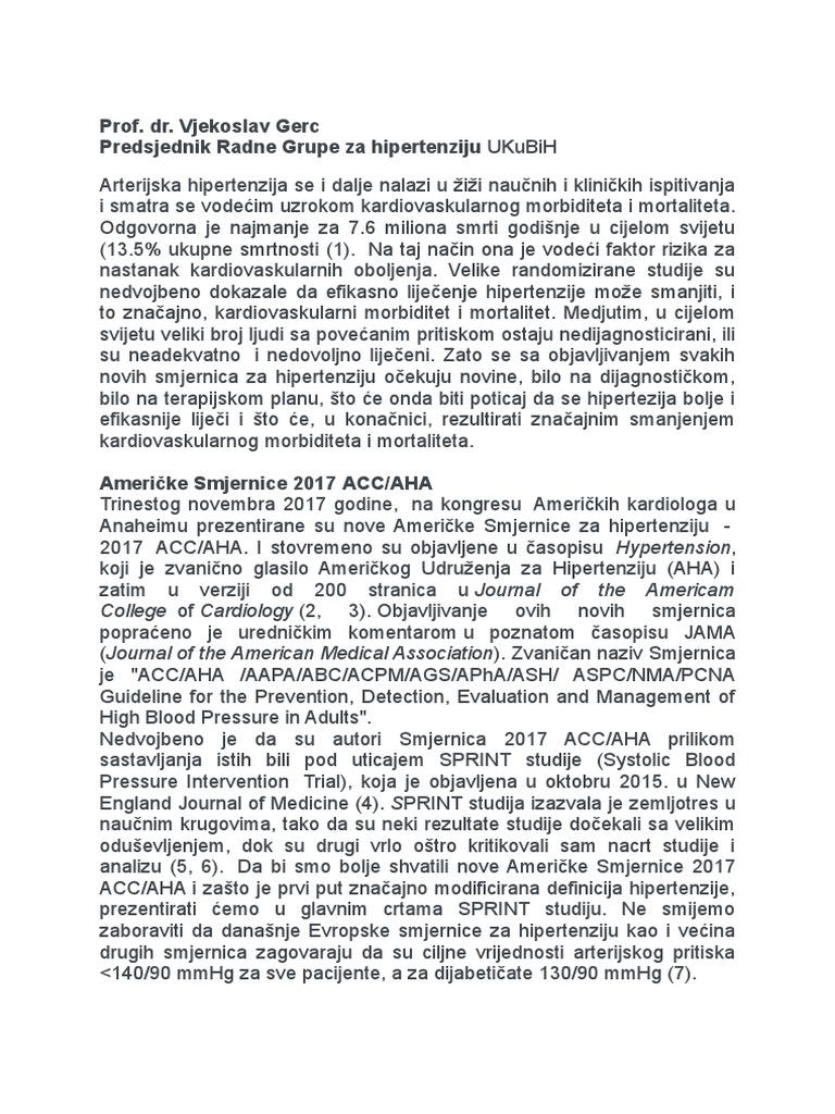 hipertenzija u liječenju novih lijekova)