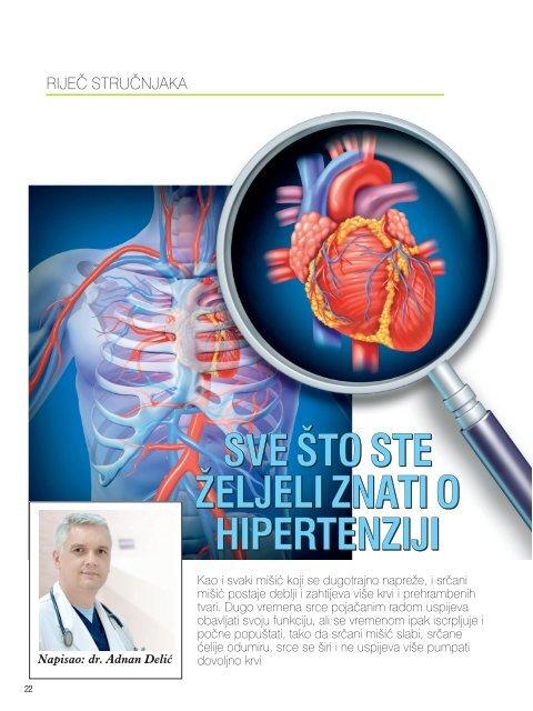 utjecati na organizam hipertenzije)