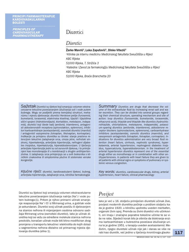 Furosemid u liječenju hipertenzije
