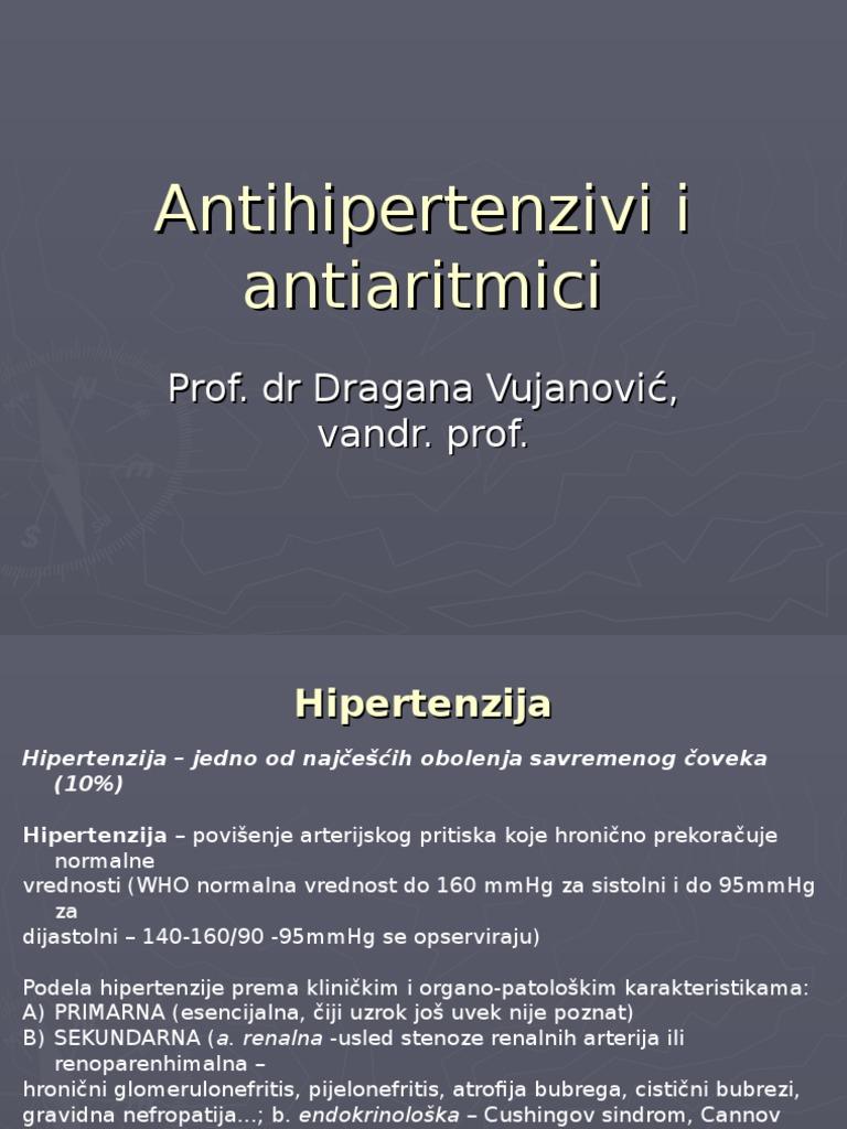 hipertenzija koji oporavila