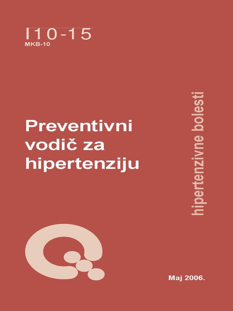 prevencija i liječenje hipertenzije 2006