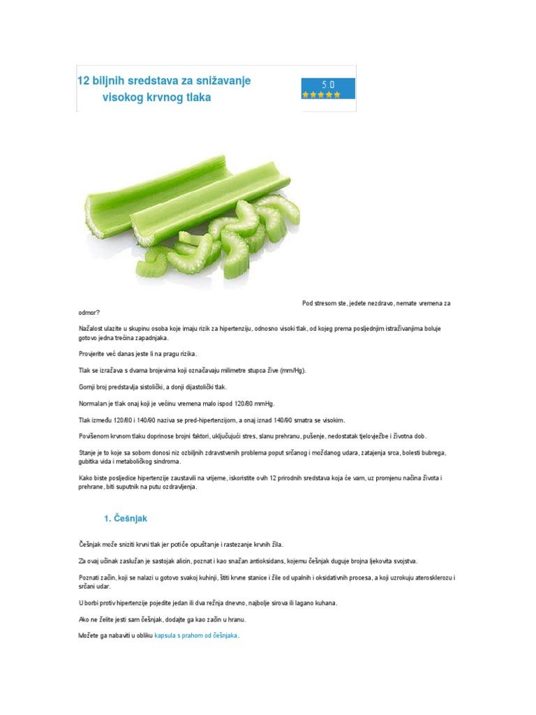 hipertenzija ishrana u ateroskleroze