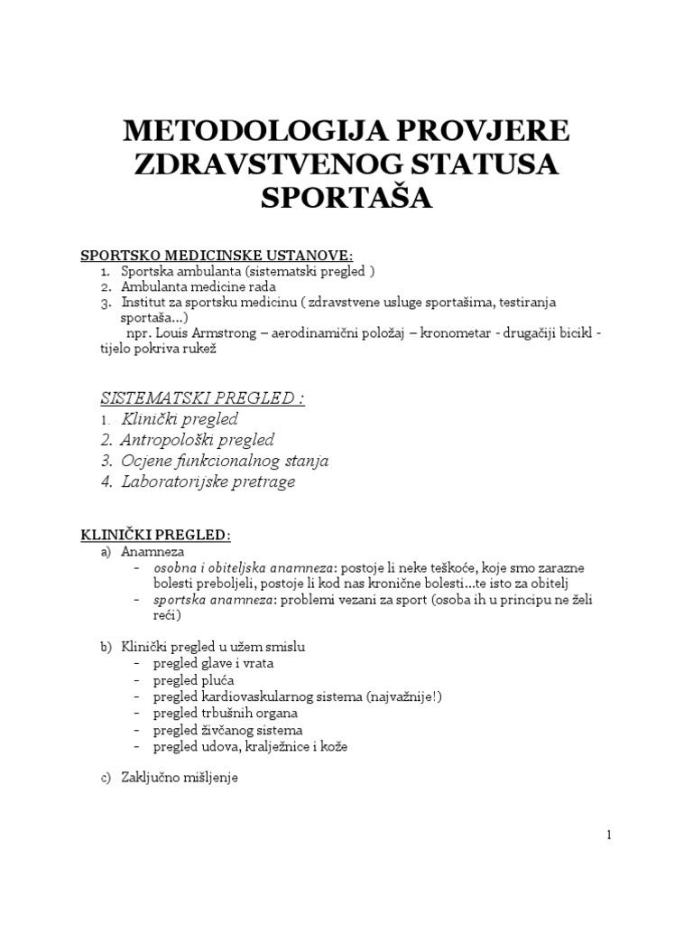 kako dijagnosticirati hipertenziju je ocjena 2)