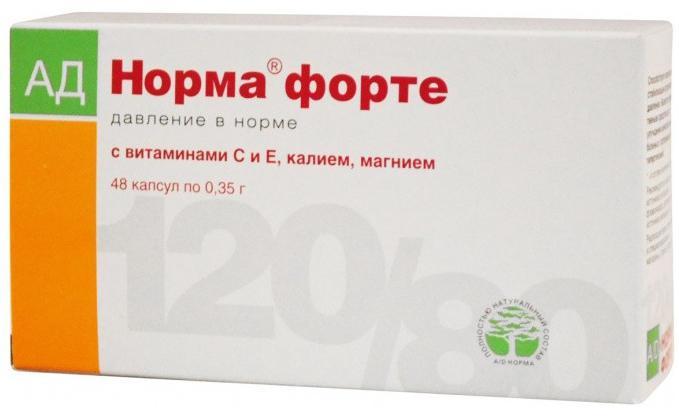 lijek za hipertenziju forte