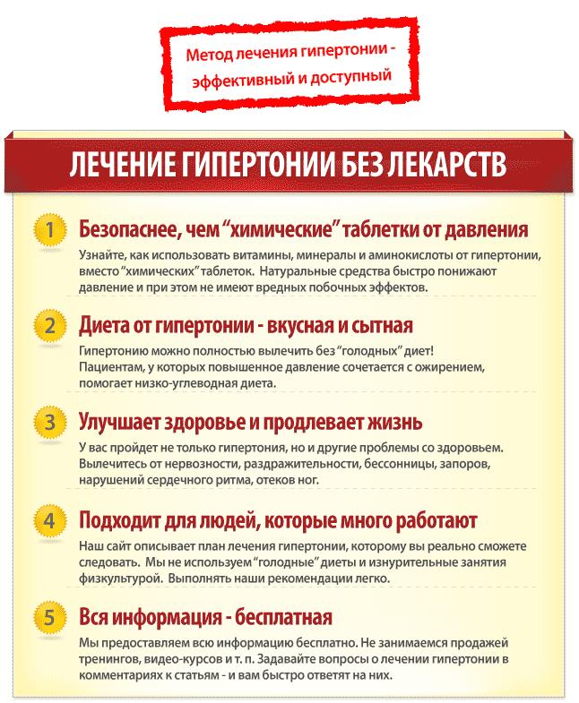 liječenje hipertenzije evdokimenko)
