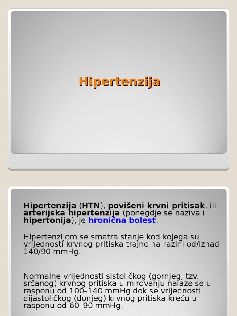 prezentaciju o hipertenziji)