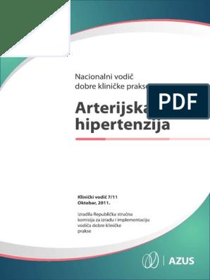 who hipertenzija klasifikaciji