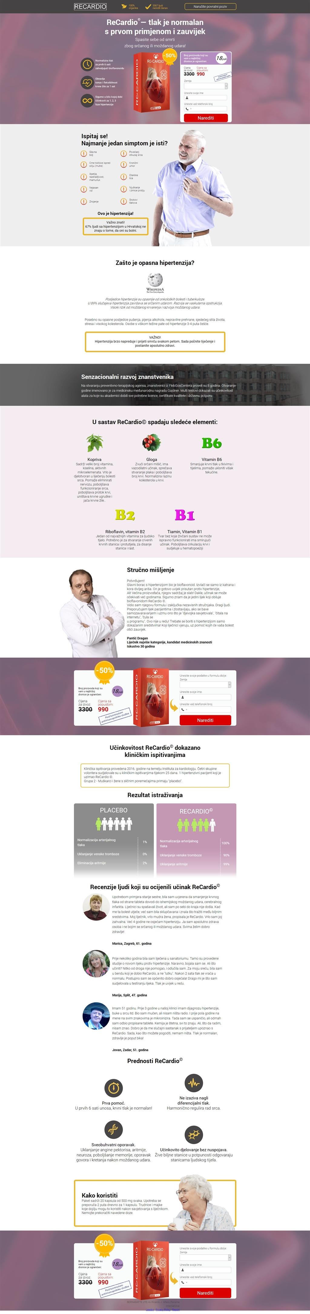 europska lijek za hipertenziju)