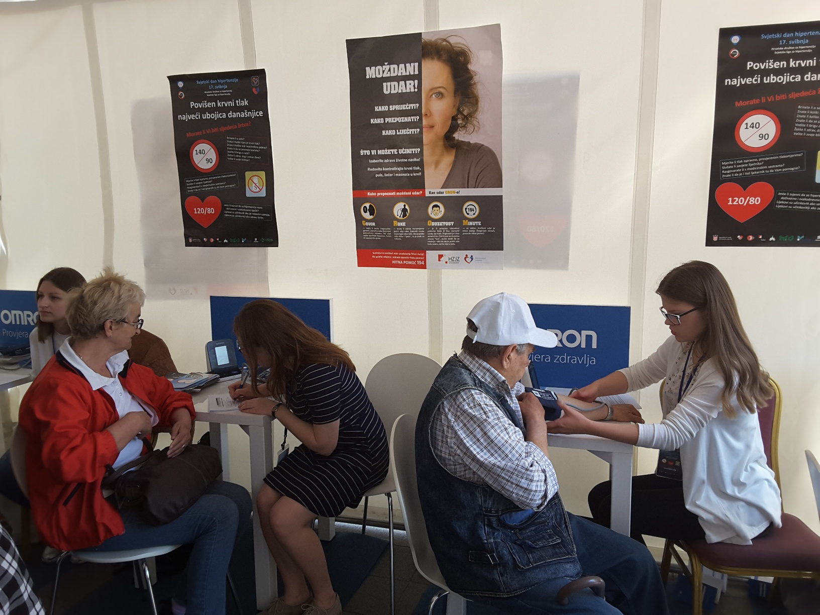 Saznajte koliki je Vaš krvni tlak | Hrvatski zavod za javno zdravstvo