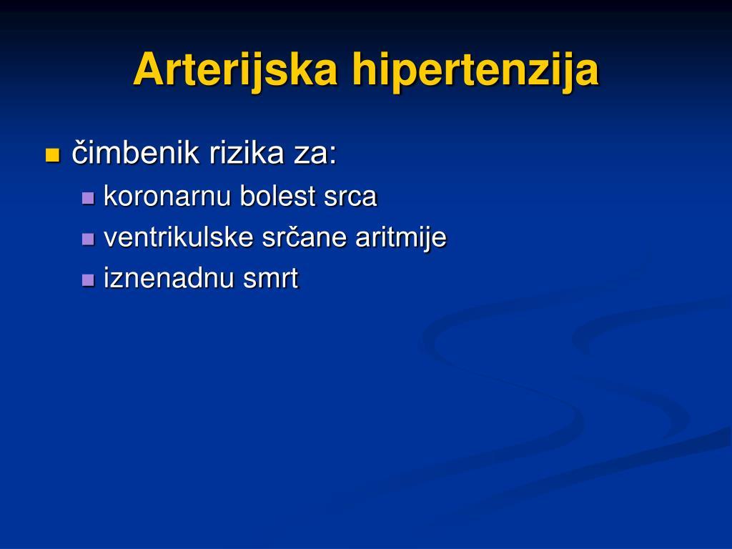 Arterijska hipertenzija i zloćudne bolesti - 2. dio