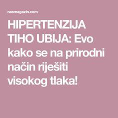hipertenzija da je to opasno)