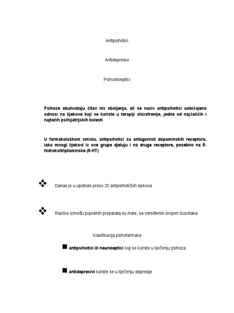 antipsihotici za hipertenziju)