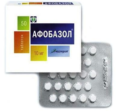 afobazol može se uzeti za hipertenziju