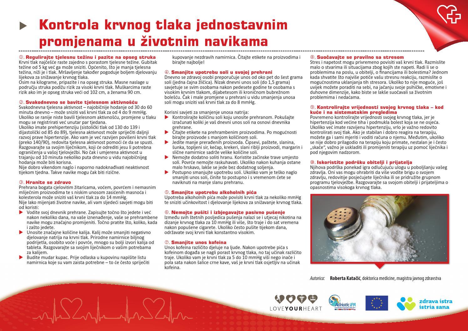 štetni proizvodi u hipertenzije)