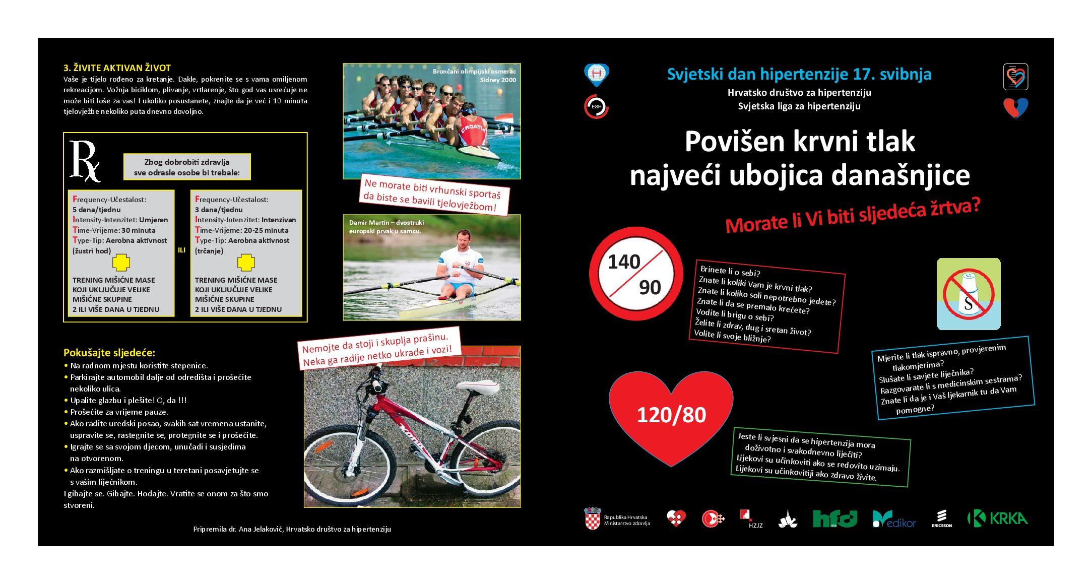 Tjelovježba može pomoći u snižavanju povišenog krvnog tlaka / Vijesti - symposium-h2o.com