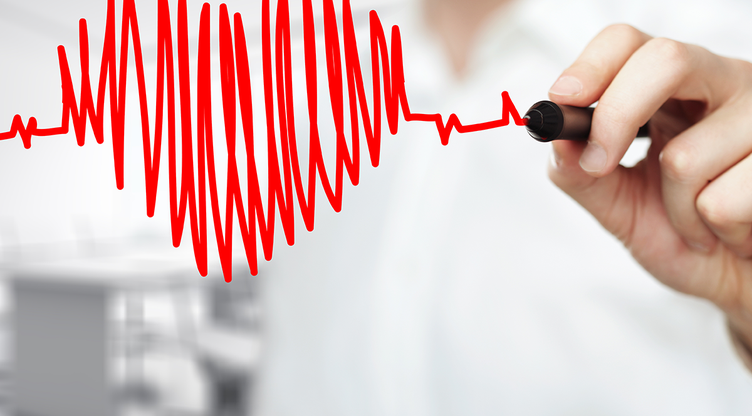 srčanog ritma hipertenzije giportoniya rizik 3 stoponi