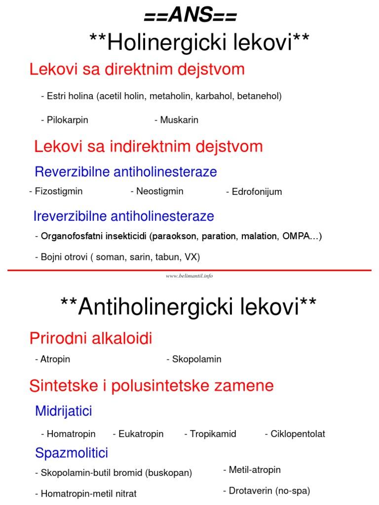 atropin hipertenzije)
