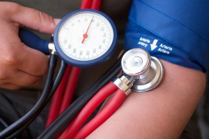 što znači da se prvi stupanj hipertenzije)