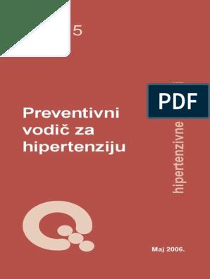 drugi i treći stupanj hipertenzije)