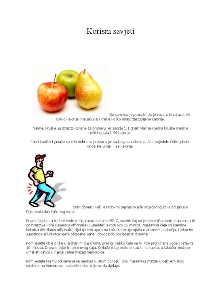 jabuke hipertenzija)