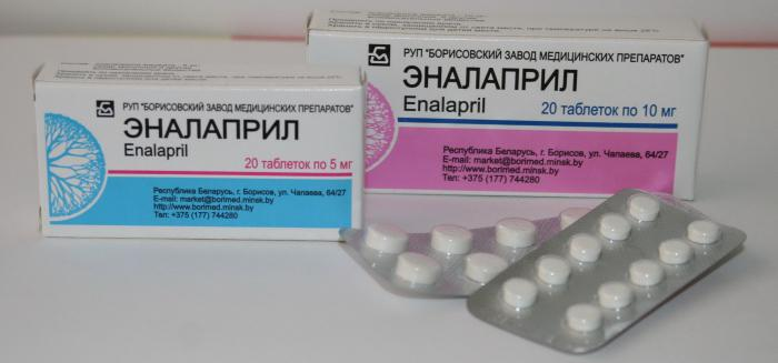 lijekove za visok krvni pritisak enalapril