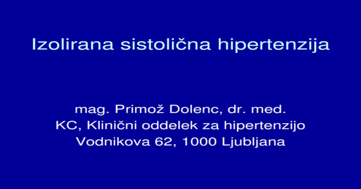 plućna arterijska hipertenzija)