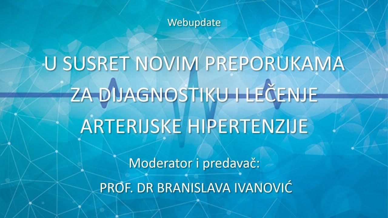 Preporuke arterijske hipertenzije