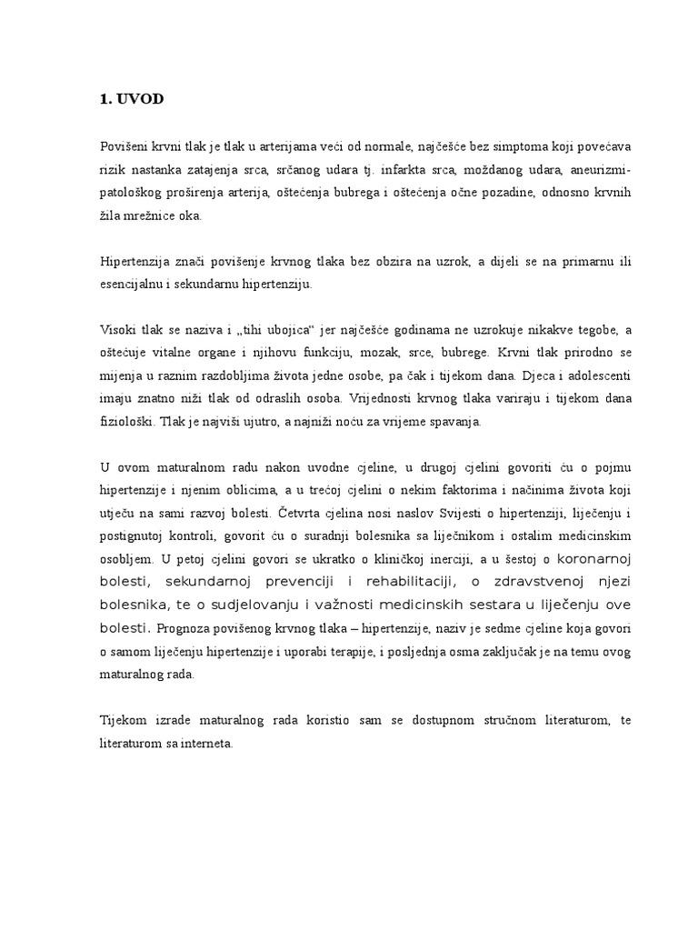 Izvještaj sa 5. simpozija Udruge medicinskih sestara u hipertenziji