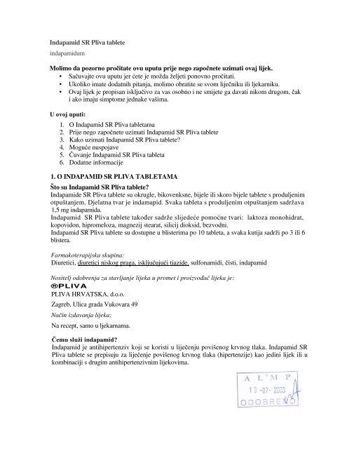 tablete liječenju hipertenzije