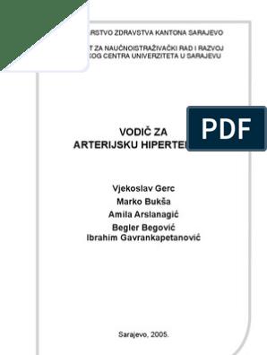 liječenje hipertenzije preporukama dojenja)