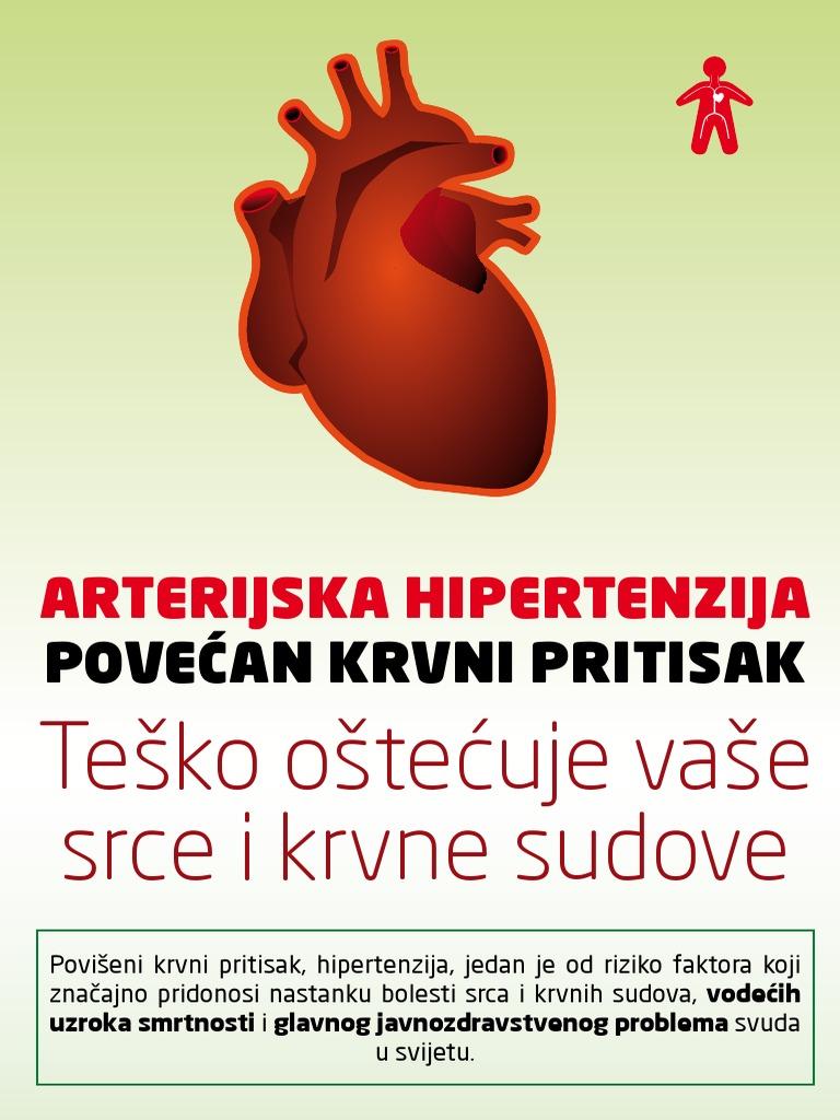 miokarda hipertenzija)