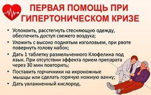 liječenje hipertenzije krize)