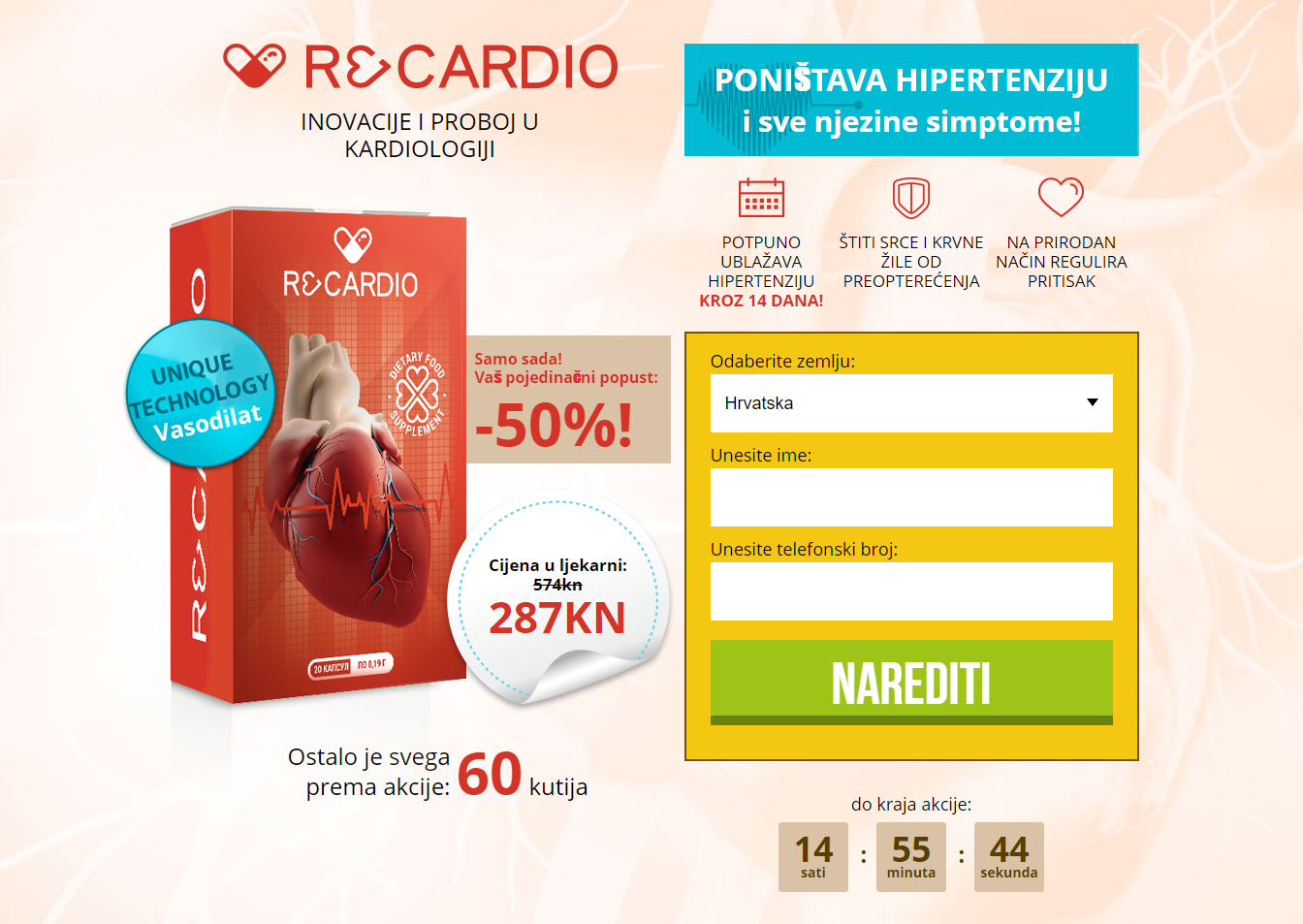 Popularan način liječenja hipertenzije
