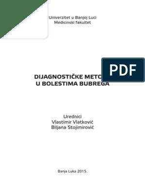 Metoda za dijagnosticiranje poremećaja venskog odljeva kroz vene vrata