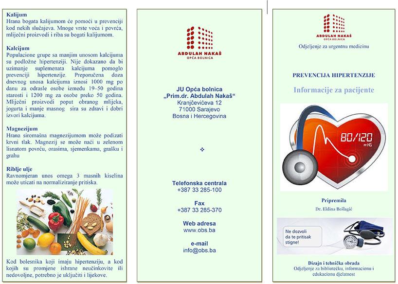 lijekovi za prevenciju hipertenzije)