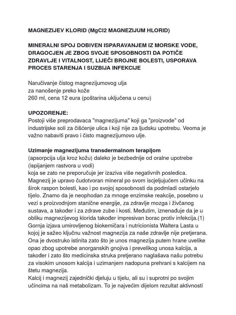 liječenje hipertenzije magnezij naravno)