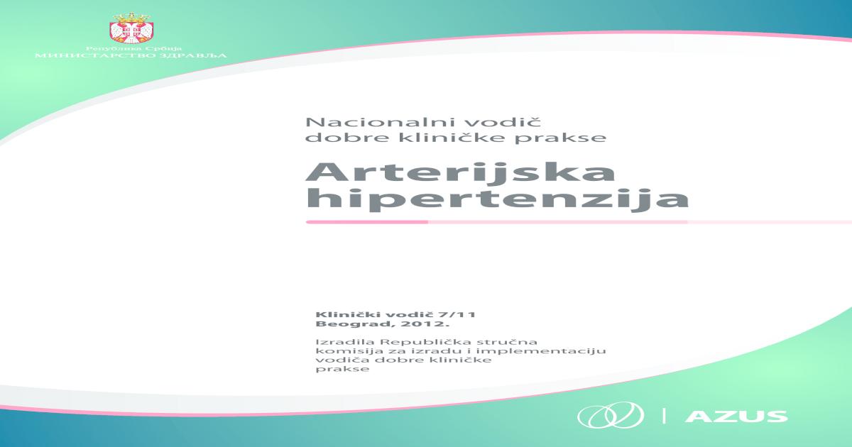 hipertenzija srce od liječenja