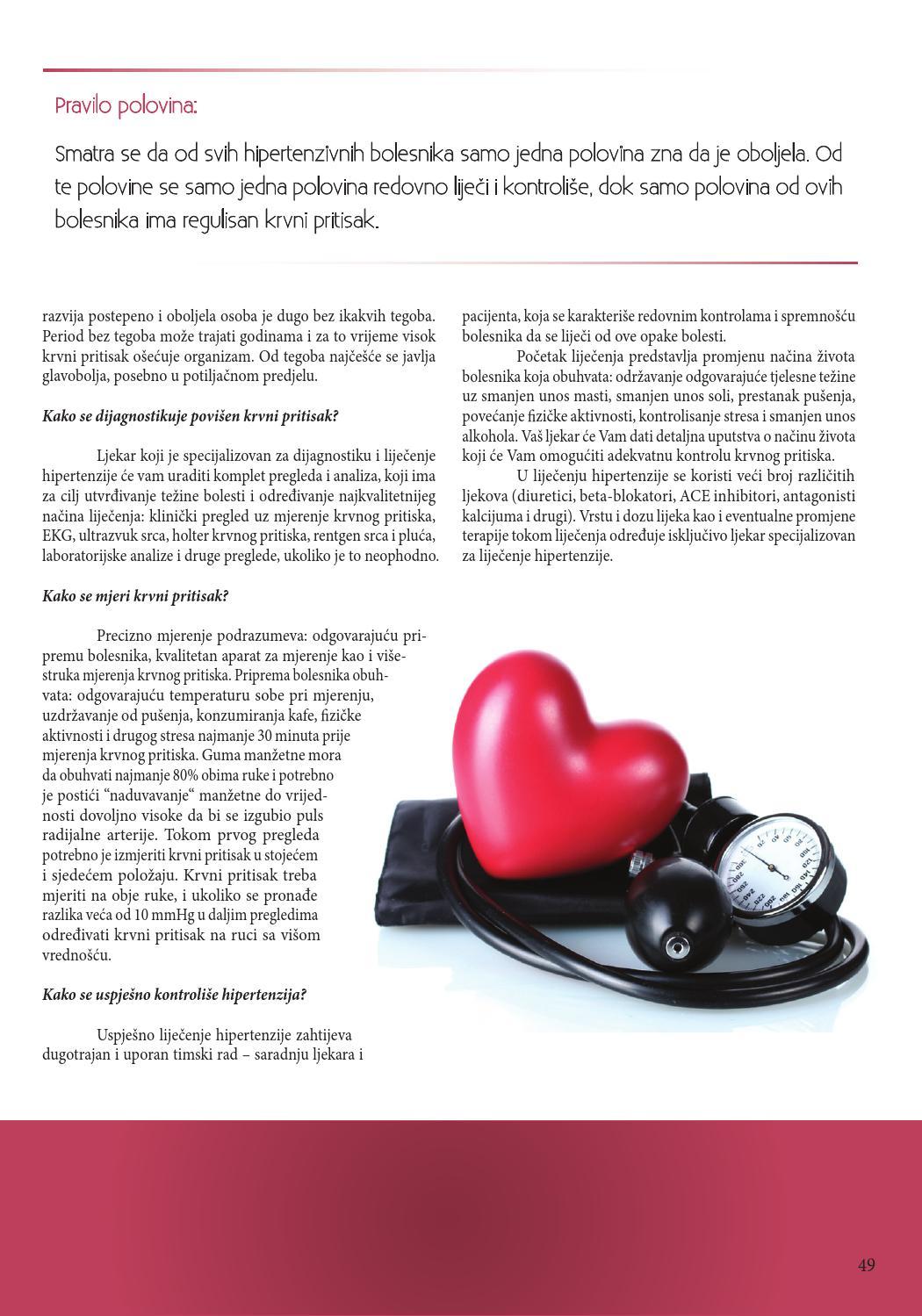 hipertenzija klinički pregled